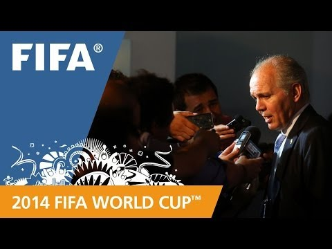 Argentina's Alejandro SABELLA Final Draw reaction