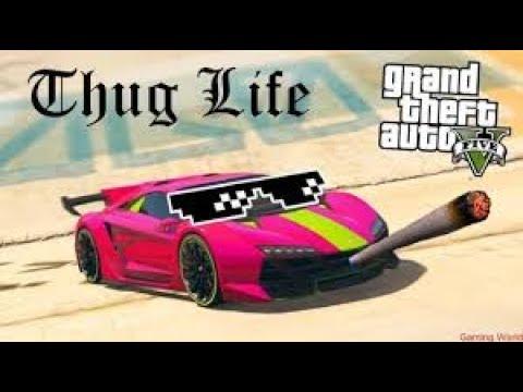 GTA 5 THUG LIFE, FUNNY MOMENTS (RACING CAR, JUMP, RUN)