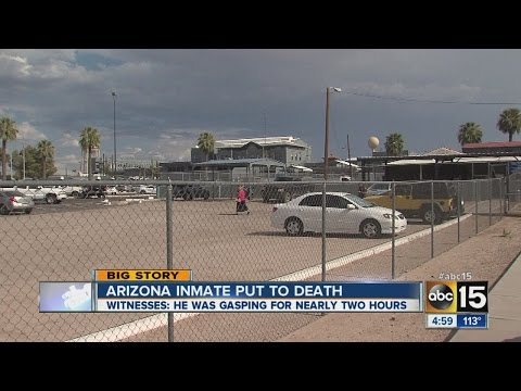 Arizona inmate dies 2 hours after execution began