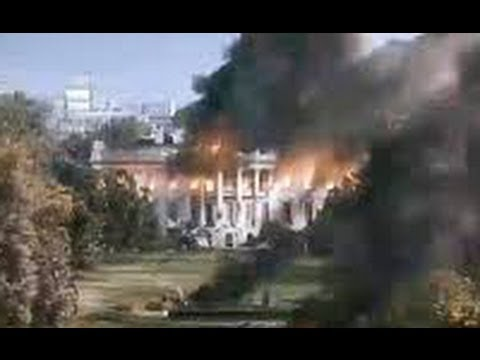 "White House Blown Up in ""White House Down"" New War Propaganda Film Starring Jamie Foxx as President"