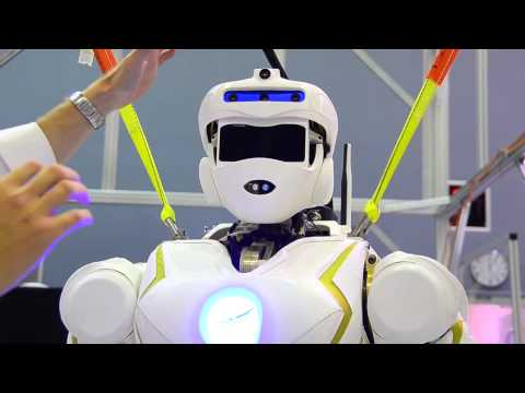 New Technology 2014 Superhuman Robot