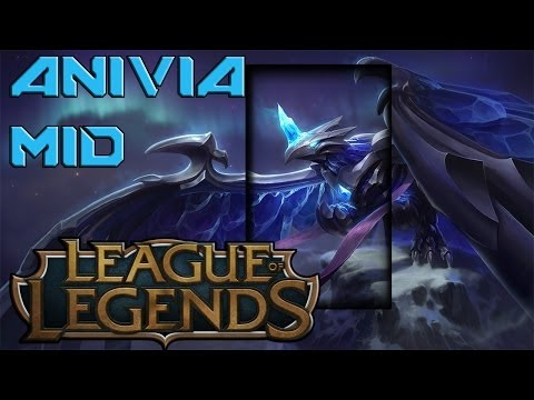 League Of Legends Season 4 - Anivia Mid vs Teemo