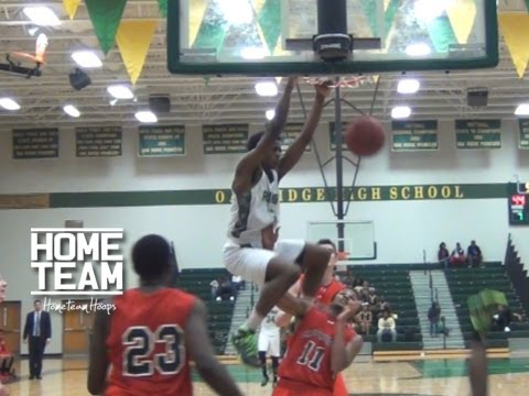 Antonio Blakeney Catches Putback On Defender At Breast Cancer Awareness Classic