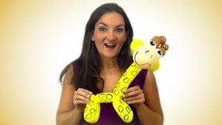 Giraffe Balloon Animal How To Tutorial Tuesday!