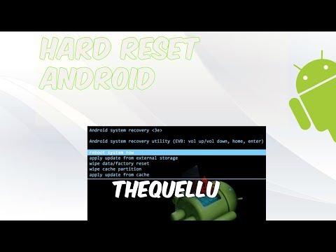 ¡Hard Reset Cualquier Android!