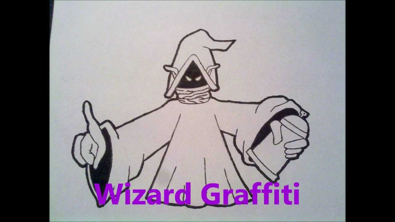Graffiti Characters Drawings by Wizard Graffiti Characters by Wizard