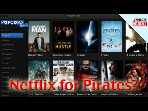 Popcorn Time is the Illegal Netflix