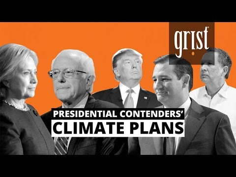 We break down the presidential candidates' climate plans