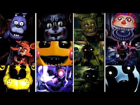 Five Nights at Freddy's 1-5 Jumpscare Simulator (FNAF 1 - 4 & FNAF SISTER LOCATION)