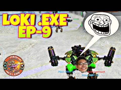 Loki .Exe (Ep-9) War Robots Funny Video 🤣