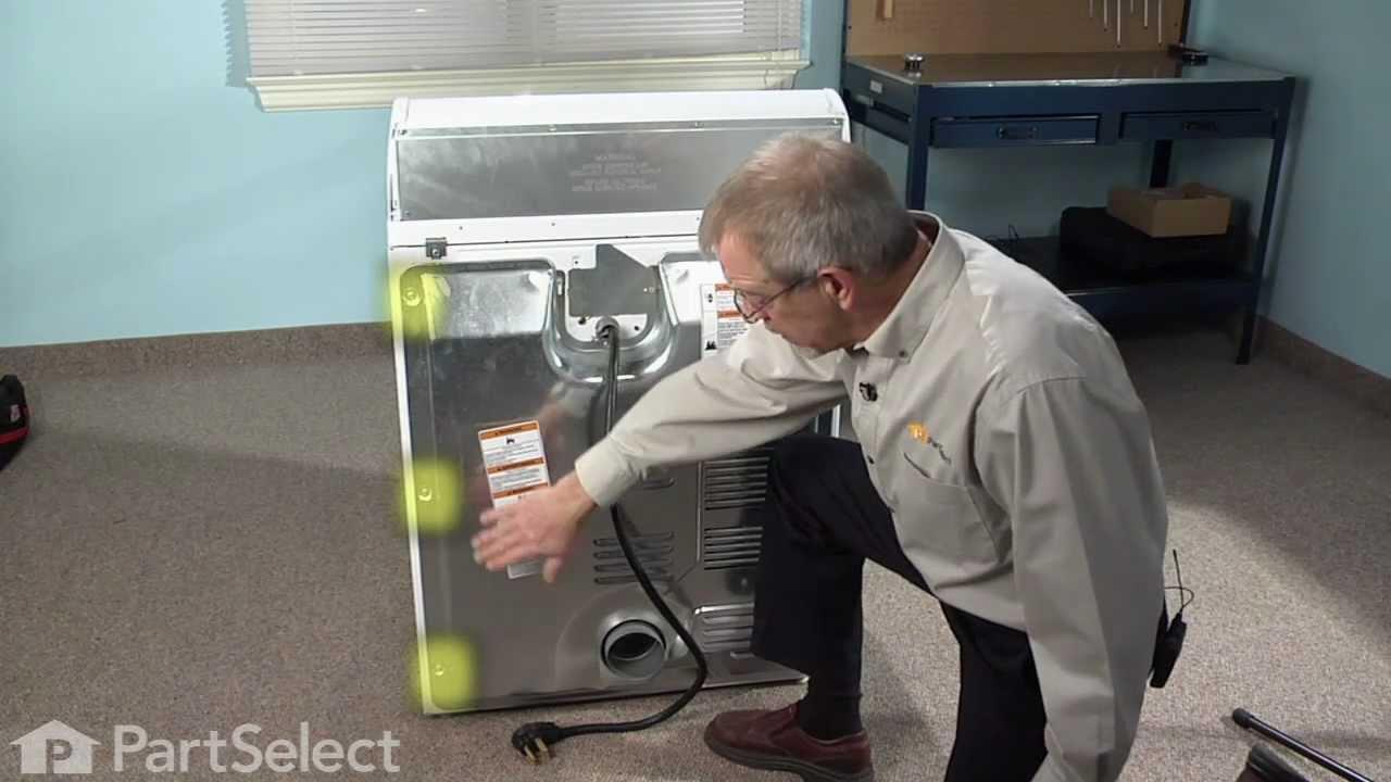 Dryer Repair Replacing The Thermal Cut Off Kit Whirlpool