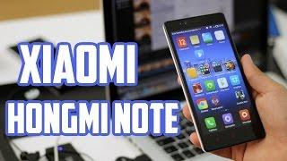 Xiaomi Hongmi Note, Review En Español