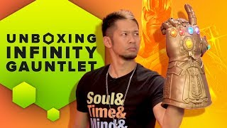 Unboxing Hasbro's Marvel Legends Infinity Gauntlet and Review
