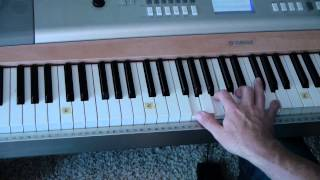 "Easy-to-Play Piano ""Amazing Grace""- (Matt McCoy)"