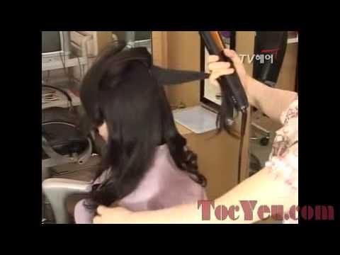 Video hướng dẫn uốn tóc kiểu Hàn Quốc