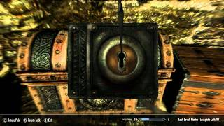 Skyrim : How To Get Lockpicking To 100 Fast