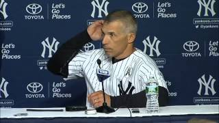 Opening Day 2013: Joe Girardi on the Yankees' loss