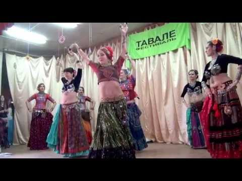 "00110 Фестиваль ""Тавале"". Культурная программа. Театр Tribal Dance Full Moon (10.05.2015)"