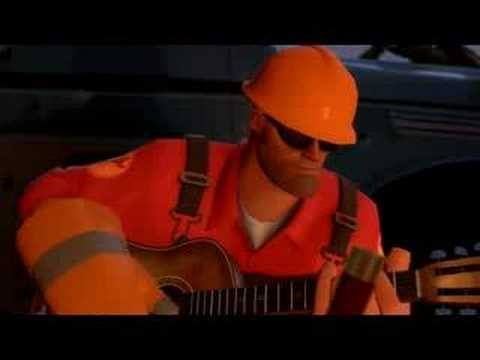 tf2 meet the heavy taming engineer