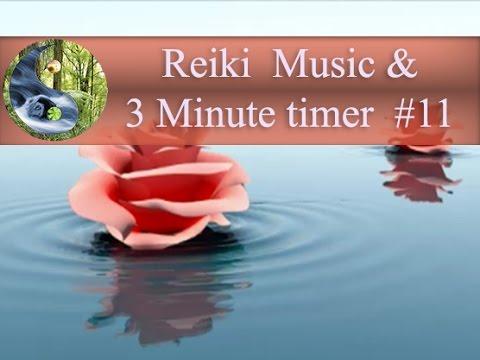 Reiki Music with 3 Minutes Bell: Reiki Timer; Tibetan bowl Meditation Music; Healing Music 💜
