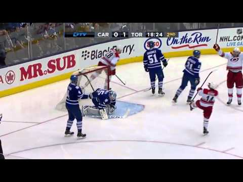 Carolina Hurricanes vs Toronto Maple Leafs 29.12.2013