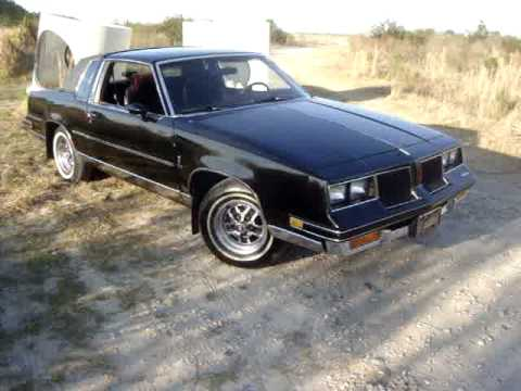 1986 cutlass salon 307 v8 youtube for 1986 oldsmobile cutlass salon for sale