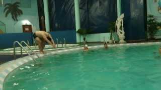 Dạy Bơi cơ bản - Bài tập nhảy tiếp nước