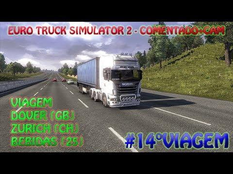 Euro Truck Simulator 2 - Comentado+CAM \