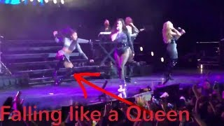 "LAUREN JAUREGUI YELLING AT SOMEONE WHILE NORMANI KOR""SLAY"" FALLS DOWN LIKE A PRO"