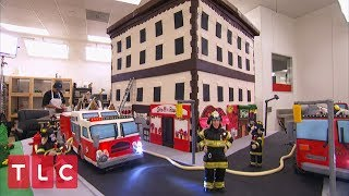 This Fire Truck Cake Puts Out Fires! | Cake Boss