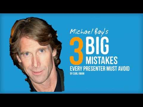 Michael Bay's 3 Big Mistakes Every Presenter Must Avoid
