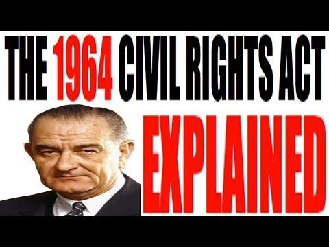 The 1964 Civil Rights Act Explained: US History Review