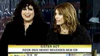 Ann Wilson & Nancy Wilson @ The Today Show