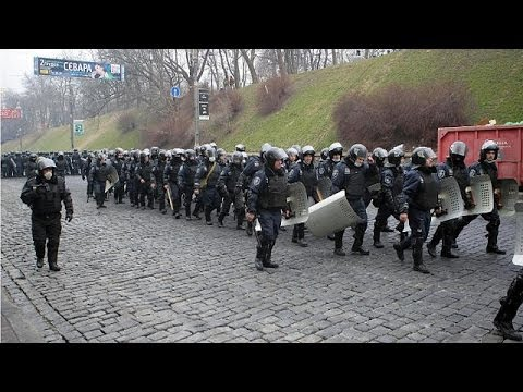 Ukraine Berkut riot police to be disbanded