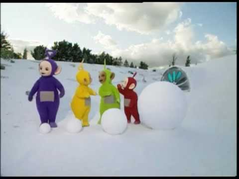 Teletabisi Bozic u Spanjolskoj! Teletubbies and the Christmas in Spain!