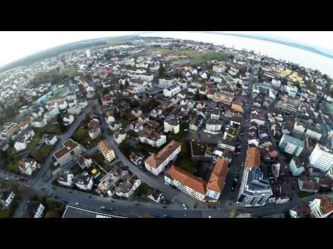 Romanshorn Luftaufnahmen mit DJI F450 & Gopro3+
