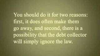 Requiring Debt Collectors To Verify Or Validate The Debt