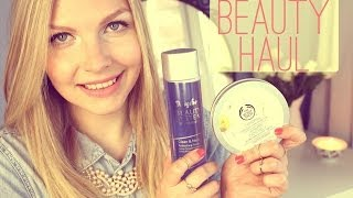 JessyWunderland – Beauty Pflege Haul | The Body Shop, DM, Douglas