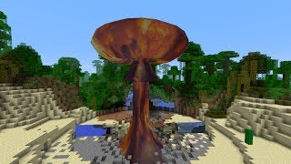 Minecraft Mod: BOMBER Nuclear Explosions Galore!