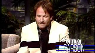 Johnny Carson: Robin Williams, 1991