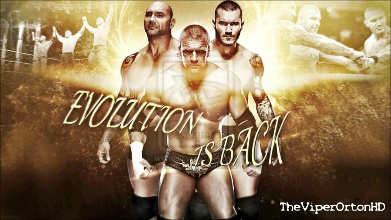 Evolution 3rd WWE Them...