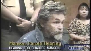 Charles Manson Parole Hearing Part 3