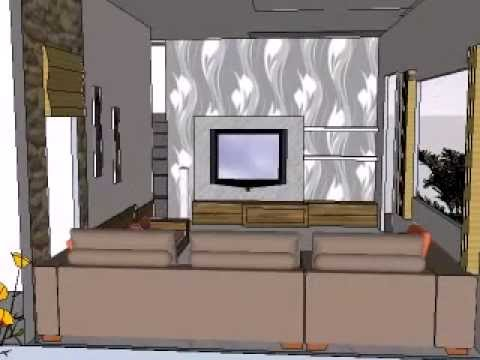Living Room Decoration Designs And Ideas 3 Bhk Row House