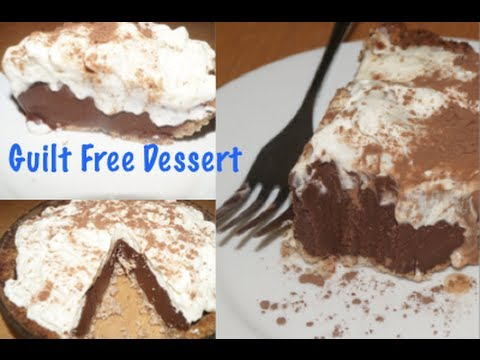 Paleo Chocolate Silk Pie- Guilt Free Dessert for Sweet Tooths!