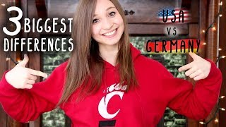 USA vs. Germany - Three Biggest Differences | German Girl in America