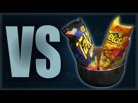 Hot Cheetos and Takis Challenge - Cult Moo VS Wreckless Eating - Ep.38