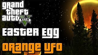 ♠ GTA 5 Easter Egg: Secret Orange UFO Hologram (GTA V