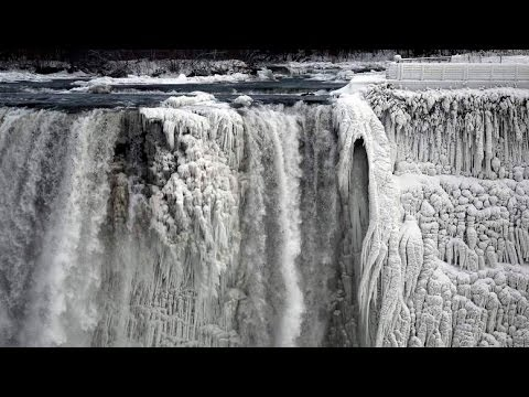 Niagara Falls Frozen Solid by Polar Vortex. Is it True?