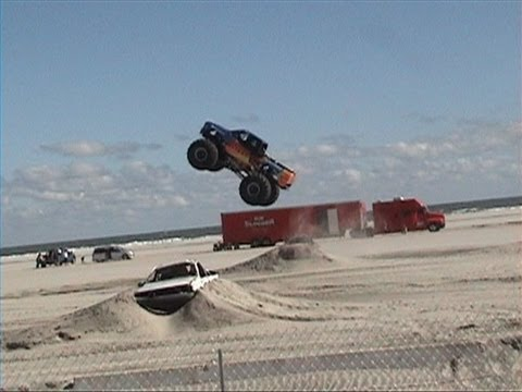 wildwood #2 monster trucks on beach sept 2013