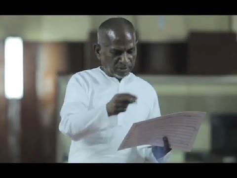 Director Bala's Spectacular Harbinger with Ilaiyaraaja - BW